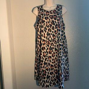 Women's A.NA. Animal Print Shift Dress